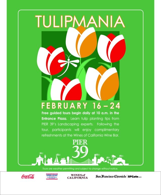 Tulipmania at PIER 39