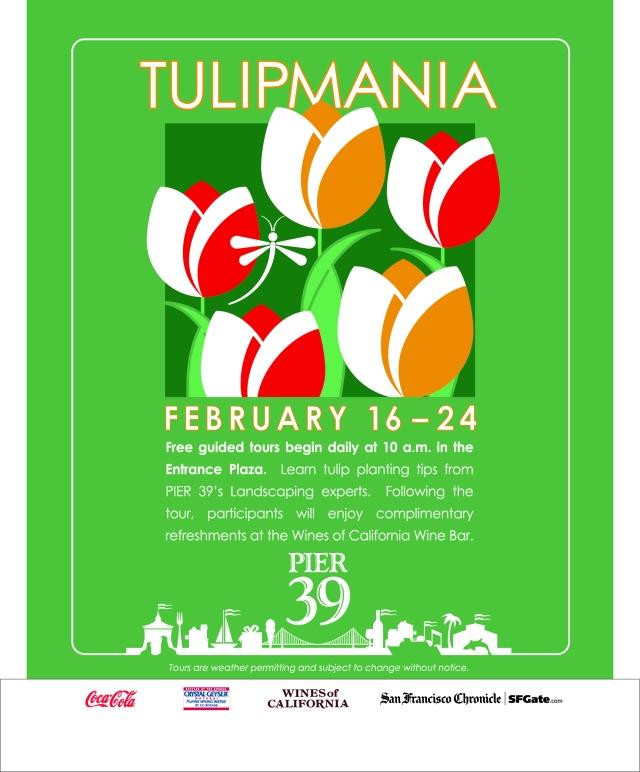 Tulipmania at PIER 39